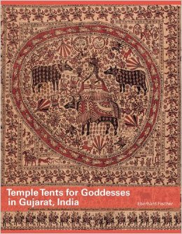 Temple tents for goddesses in Gujarat, India