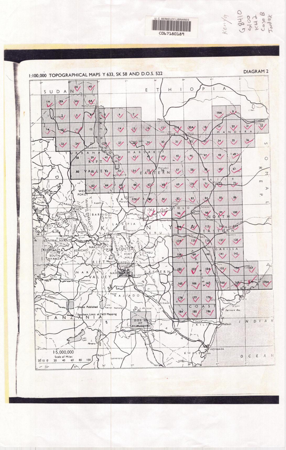 Digital Topographic Map Sets