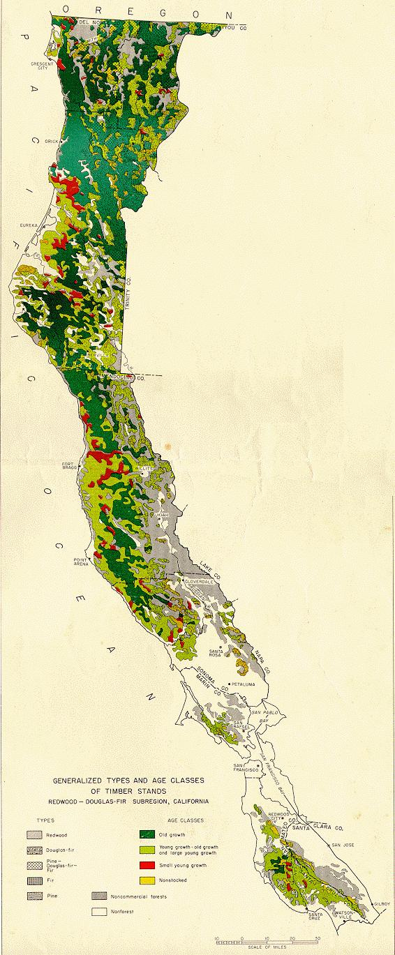 Northwestern California Maps Humboldt Room HSU Library Special - Us lumber industry map 1900