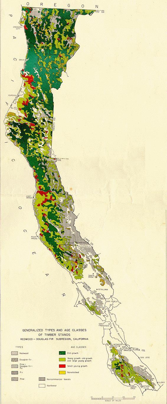 States Of The US AM Online Vegetation And Plant Distribution - Vegetation map us