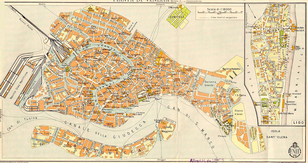 Map Venice Italy – Tourist Map Of Venice Italy