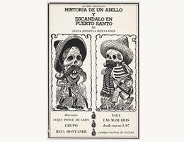 """""""Historia de un anillo"""" y """"Escándalo en Puerto Santo"""" de Luisa Josefina Hernández BANC PIC 2001.061:0303—D"""