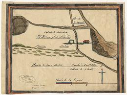 Diseño del Rancho Olompali : Calif. Land Case Map B-31  5)