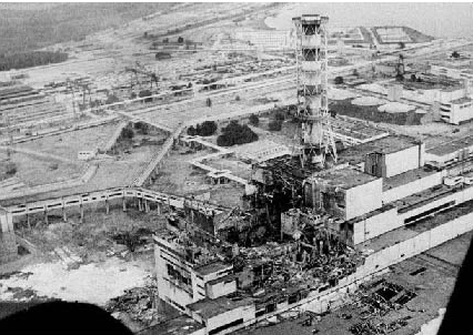 Chernobyl after disaster