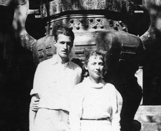 Photo of John and Caroline Service, China, 1934