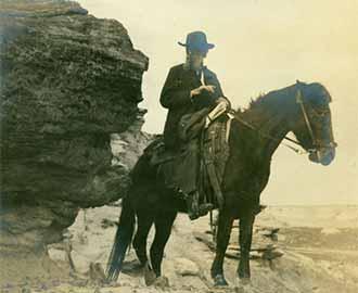 Photo of John Muir, 1908