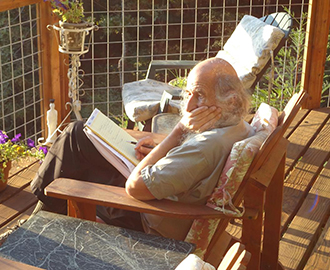 Photo of Malcolm Margolin, Courtesy of Kim Bancroft