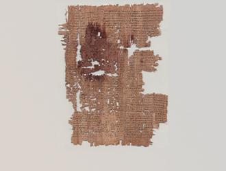 P.Tebt. 268 (early third century AD): Known hitherto only in a Latin version, this is a substantial fragment of the lost Greek original of Dictys Cretensis' Ephemeris belli Troiani.