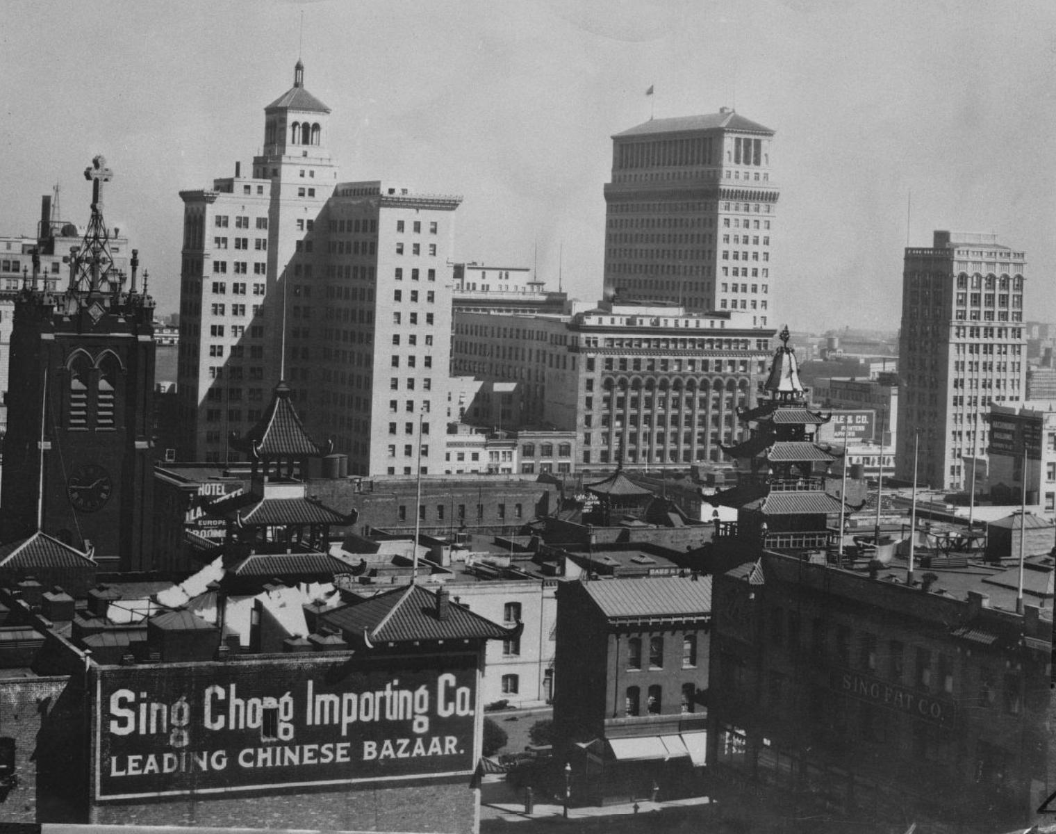 San Francisco Chinatown 1930s