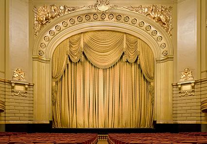 San Francisco Opera curtain