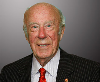 George P. Shultz, photograph by Michael Mustacchi, 2011