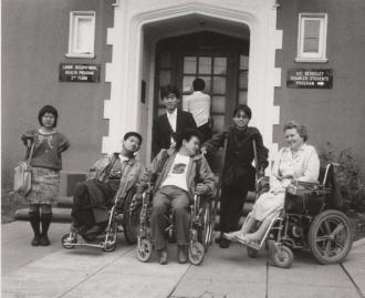 Photo of Susan O'Hara and members of DRILM