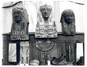 mummy masks from Tebtunis