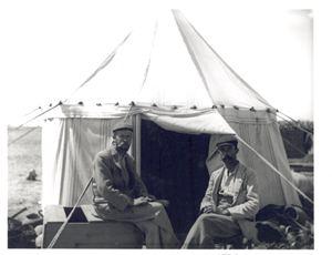 Bernard P. Grenfell and Arthur S. Hunt in Tebtunis 1899-1900