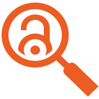 Open Access Symbol in Magnifying Glass