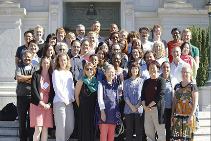 Photo of 2014 Advanced Oral History Summer Institute Participants and Faculty