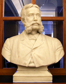 bust of H H Bancroft