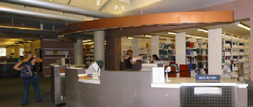 Bioscience Library Circulation Desk