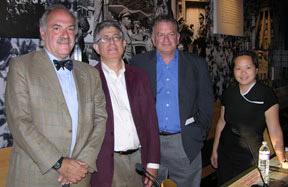 panelists: Tom Goldstein, Daniel Farber, Lowell Bergman, I-Wei Wang (moderator)