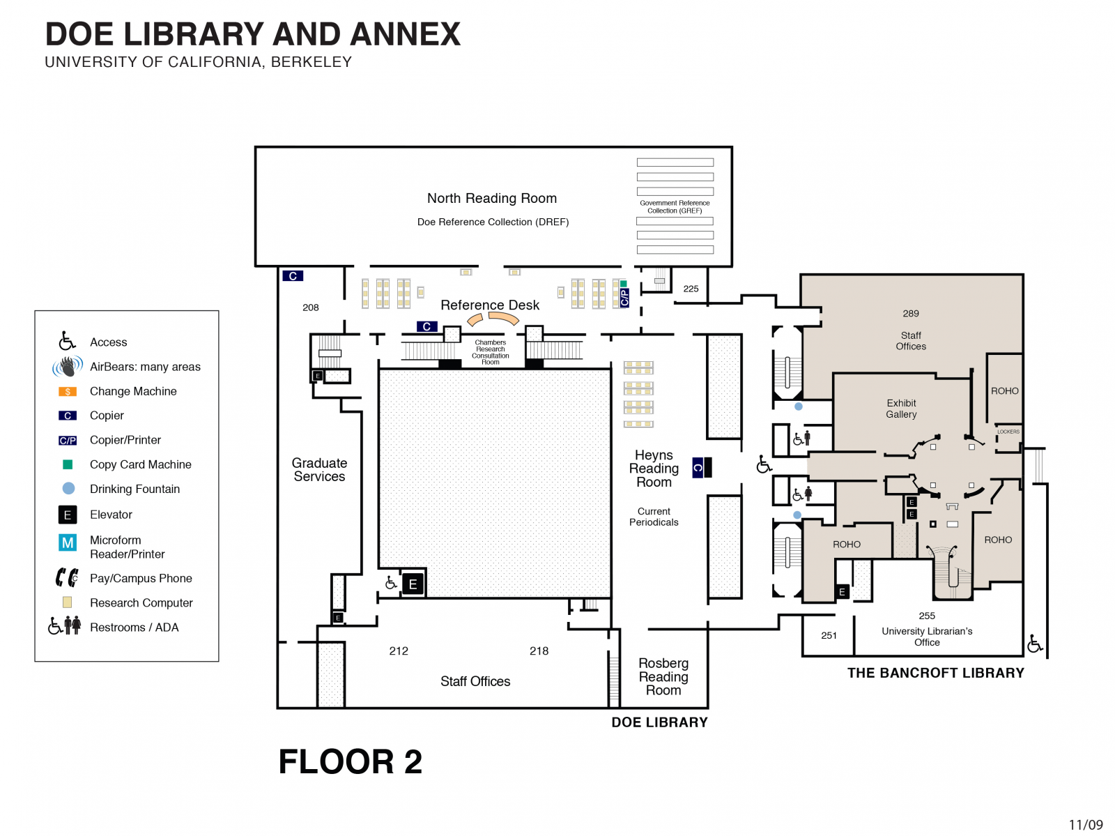 Floor Layout Design Floor Plans Uc Berkeley Library