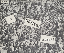 Photo of Free Speech Movement record cover