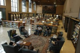 Photo: Roger W. Heyns Reading Room