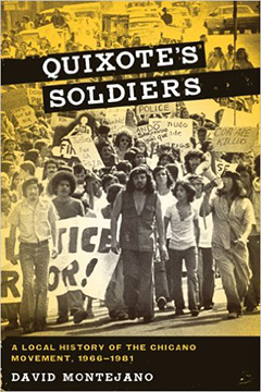 photo of book cover for Quixote's Soldiers: A Local History of the Chicano Movement , 1966-1981 by David Montejano