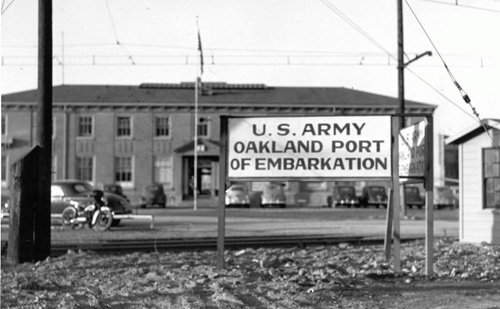 Oakland Port of Embarkation, ca. 1943.