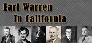 Earl Warren in California header image