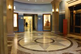 The Bancroft Library lobby, 2014