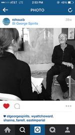 Jorg Rupf interviewed by Shanna Farrell, from OCH's Instagram feed