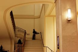 Stairs from the Bancroft lobby, 2014