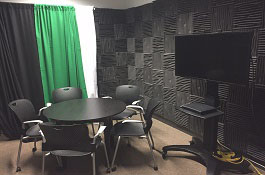 Environmental Design Library Recording Room